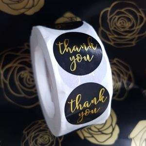 NEW 500 pcs Thank You Stickers